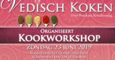 Flyer Kookworkshop Vedisch Koken Juni 2019